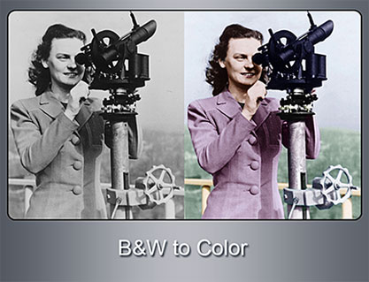 Change Black & White Photos to Color, Color the Black & White Photos, Black & White to Color, Coloring the Black& White Photos, Photo Restoration Services, Photo Retouching Services