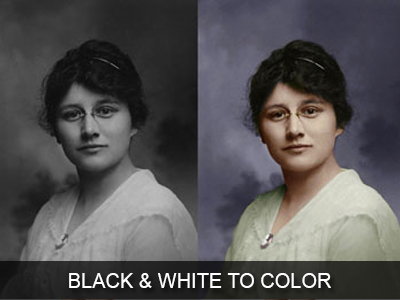 Convert Black and White Photos to Colour