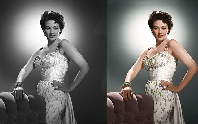Image Colorization in Professional Photo Editing